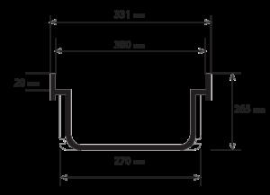 PVC folóka