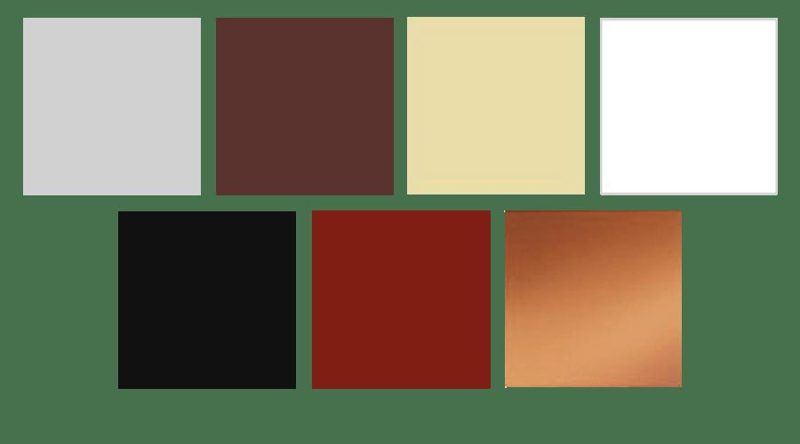 Ereszcsatorna 7 féle színben