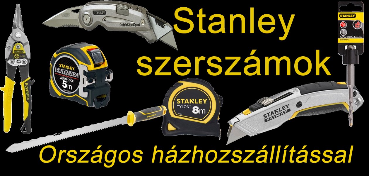 Stanley szerszámok