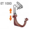 ET 1000 csatorna tartó felfüggesztése