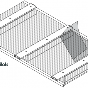 Aluminium leszorító profilok